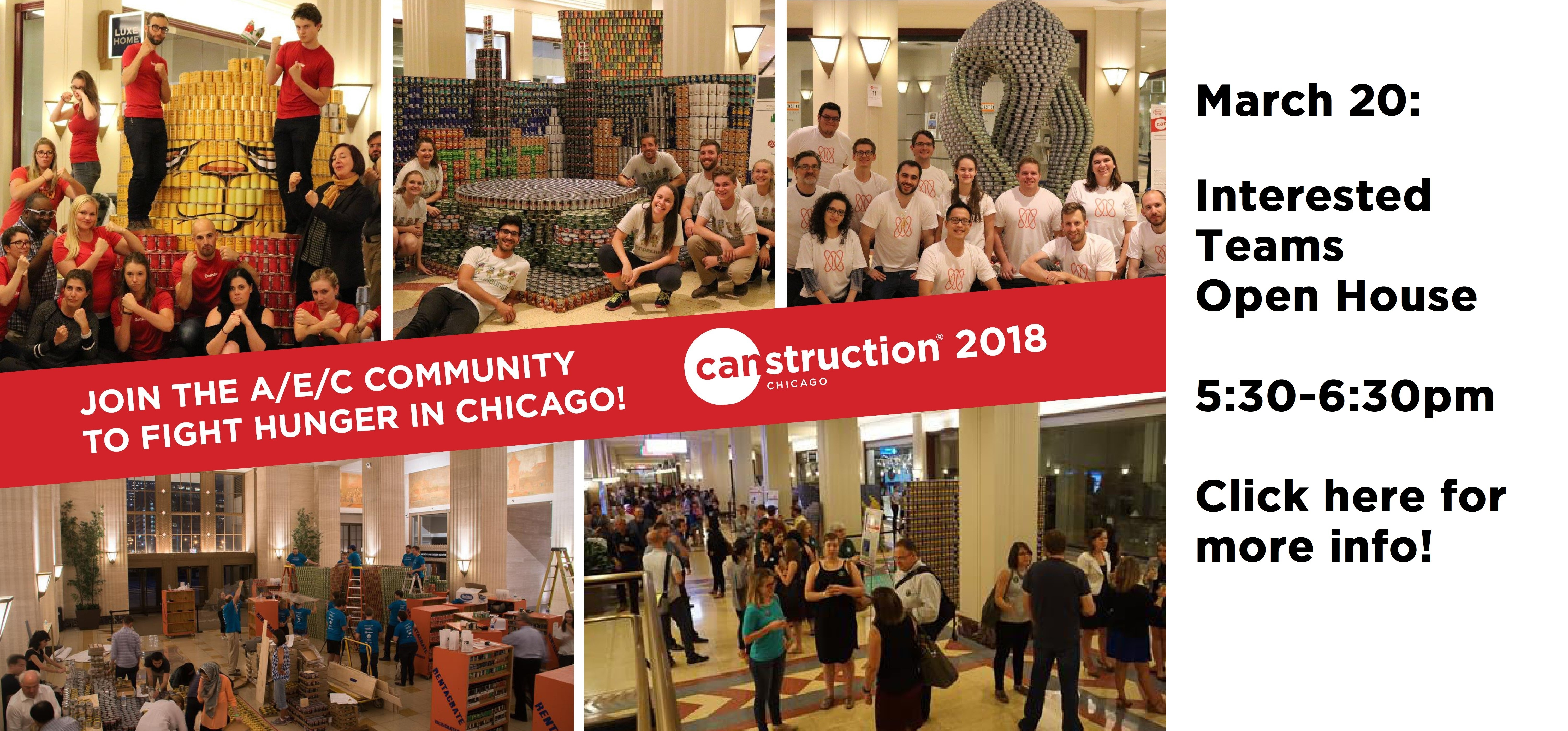 Canstruction 2018 Open House