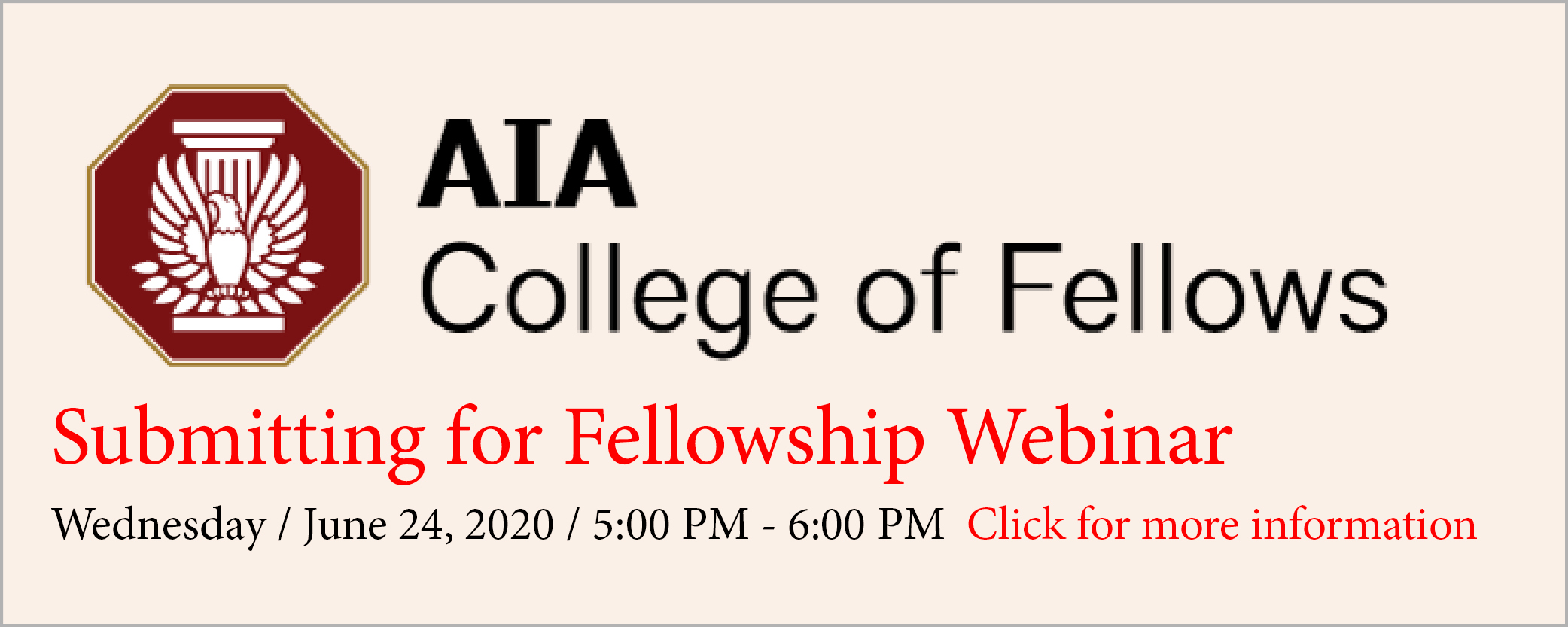 Submitting for Fellowship