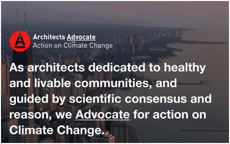 Architects Advocate for Action on Climate Change - Meeting