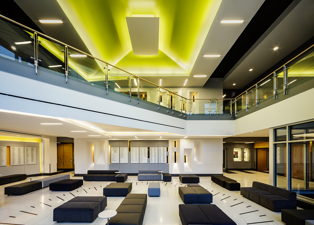 Nancy and g timothy johnson center for science and community life north park university 2015 Top universities for interior design