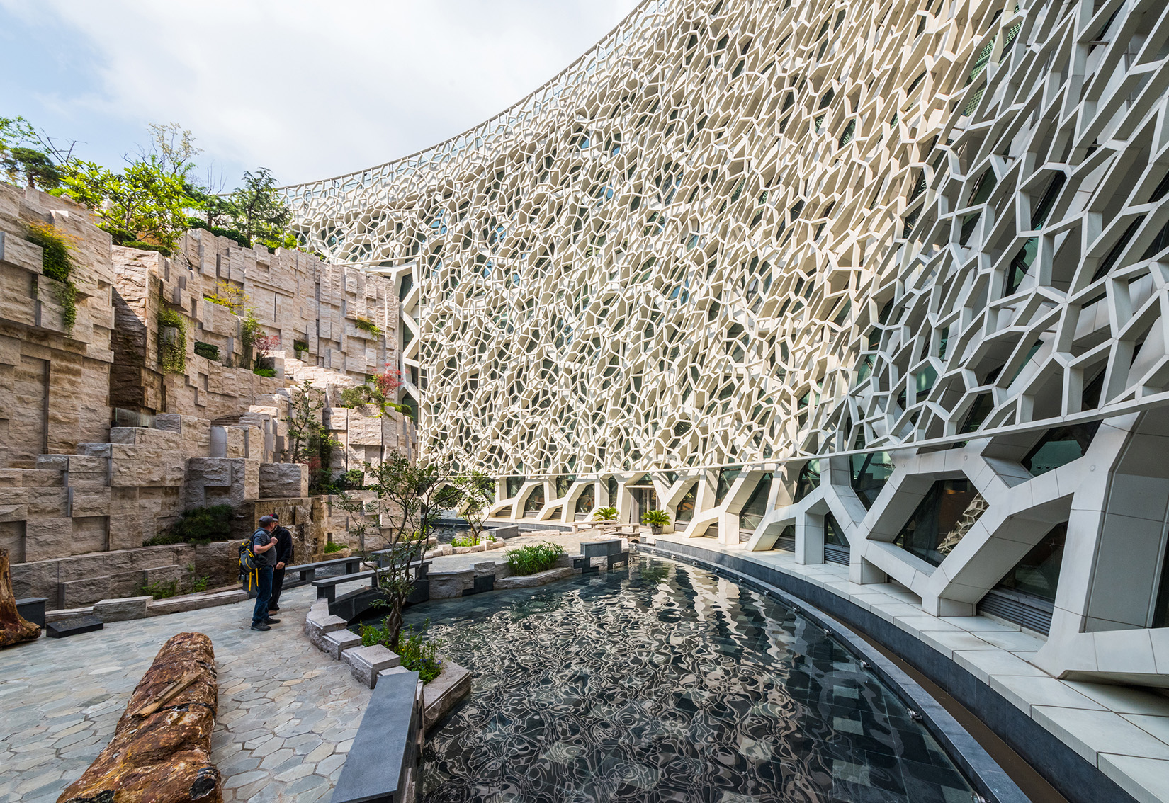 shanghai museum natural history architecture china architects organic nature perkins building wall materials institute patterns projects spaces dea aiachicago