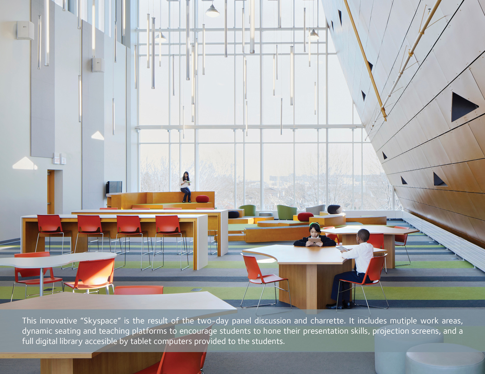 Galewood Elementary School Interiors 2015 Design Excellence Awards American Institute Of
