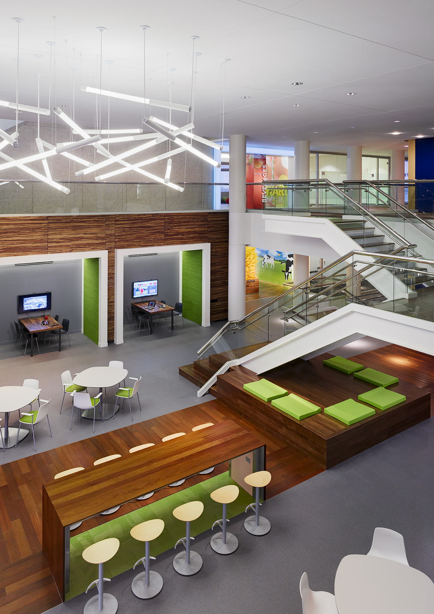 Kraft foods 2014 design excellence awards american institute of architects - Kraft foods chicago office ...