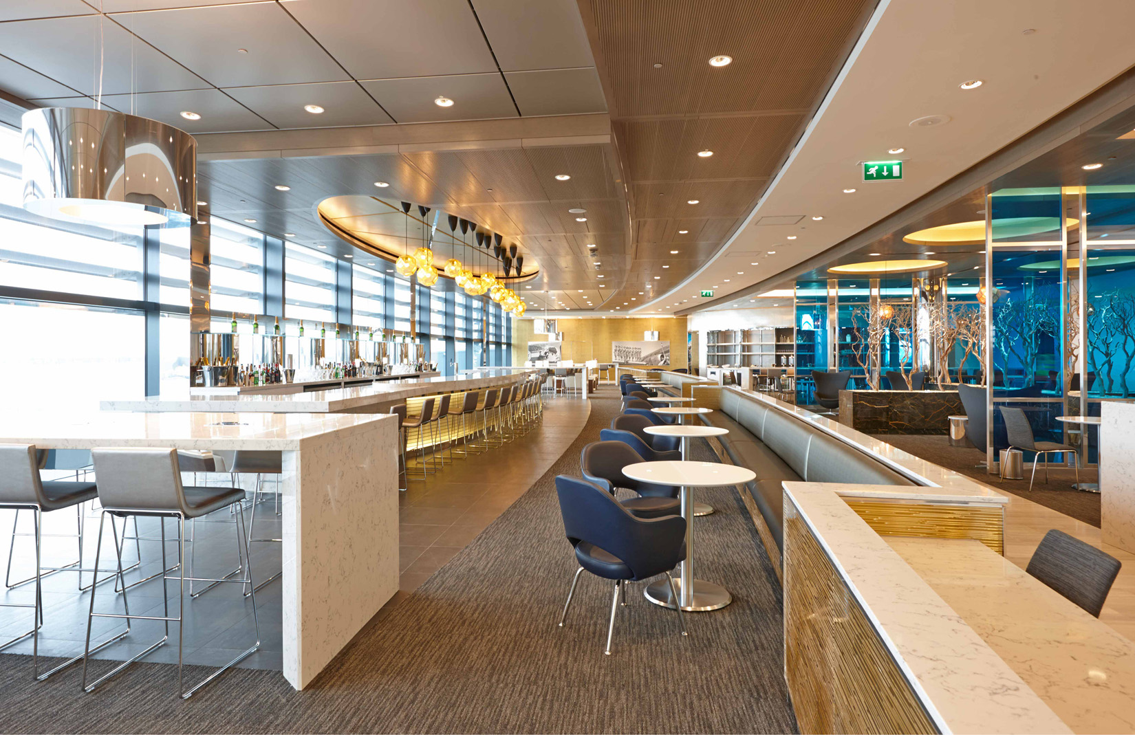 The Project Sets A New Standard For International Lounge
