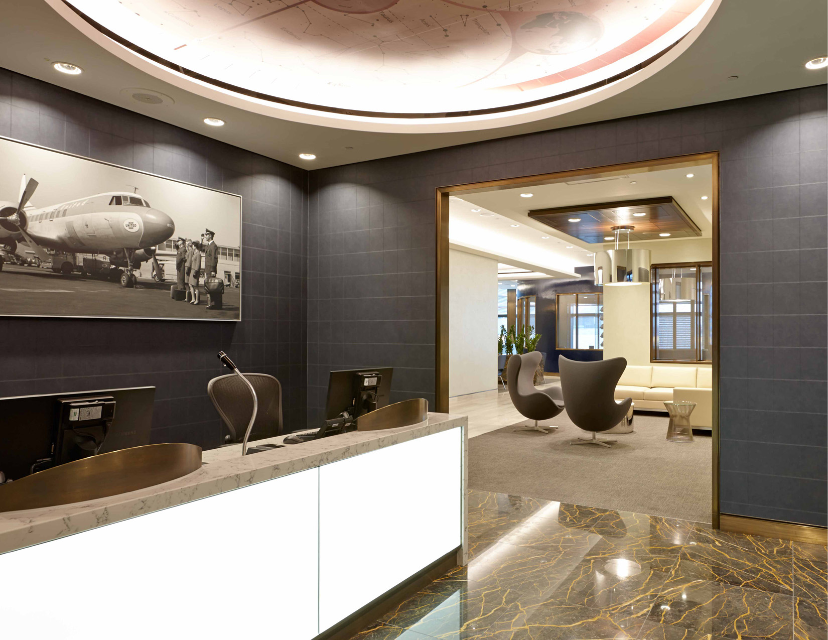 The Project Sets A New Standard For International Lounge Design By Elevating Concept Of Traveler Luxury And Utilizing United Brand To Serve