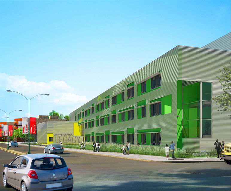 Find an architect american institute of architects for Youth center architecture